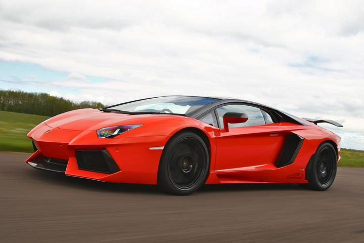 Lamborghini Aventador Oakley Photo