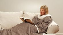 Time to start your gift-shopping: The sherpa-lined Snuggie is $14 off right now at HSN