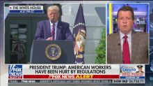 Fox Host Neil Cavuto Cuts Away From Trump Speech to Note It 'Mischaracterized' Obama's Record
