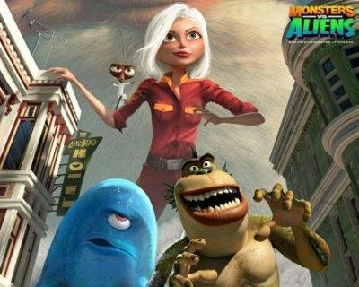 Monsters vs. Aliens tops weekend box office, is this the big break for 3D?