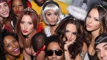 Vanessa Hudgens Stages 'High School Musical' Reunion at Her Halloween Party