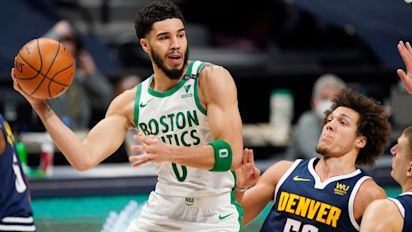 Boston Celtics finish strongly to halt Denver Nuggets' winning streak