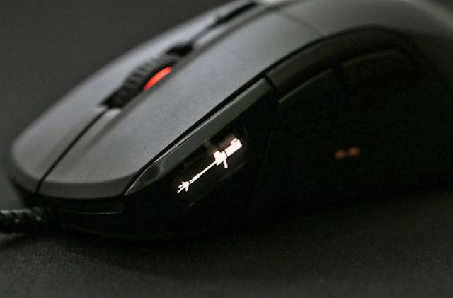 SteelSeries ships its OLED-packing gaming mouse