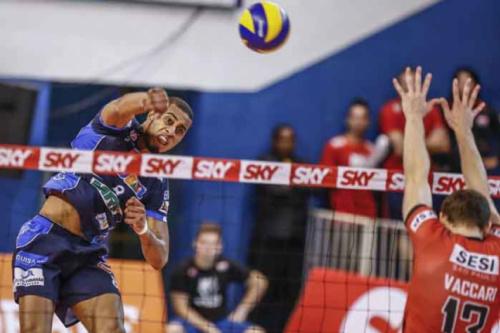 Funvic Taubaté vence o Sesi-SP e está a uma vitória da final da Superliga