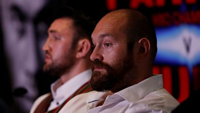 Tyson Fury appears to announce his boxing retirement again
