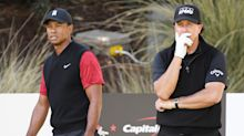 Tiger Woods: 'No reason' Phil Mickelson can't win every week on senior tour