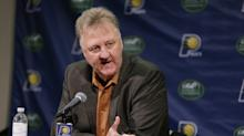 Sources: Larry Bird stepping down as Pacers president