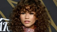 Zendaya's curly hair with bangs and all the best celeb beauty looks of the week