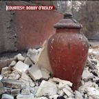 Urn Containing Grandmother's Ashes Survives Catastrophic Wildfire