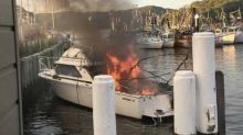 Four people critical after boat explosion on Hawkesbury River