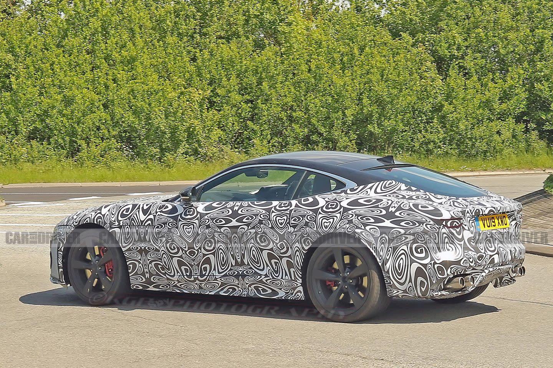 Spy Photos of the 2021 Jaguar F-type