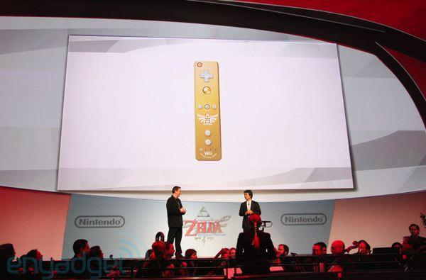 Nintendo announces gold Wiimote for Legend of Zelda: Skyward Sword