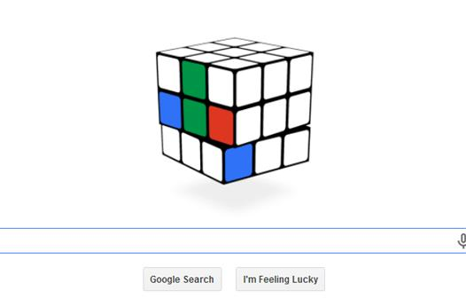 Celebrate the 40th birthday of Rubik's Cube with today's Google Doodle