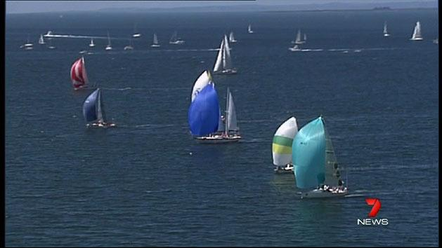 Yachts ready for traditional race