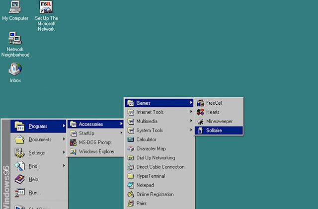Happy 20th birthday, Windows 95!