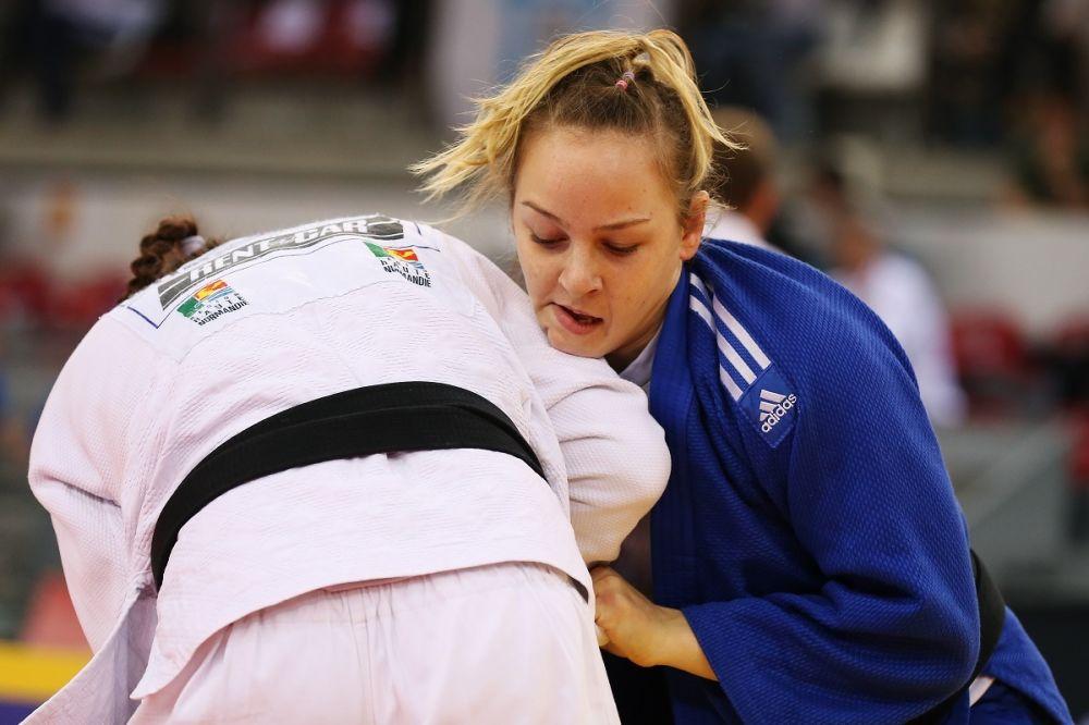 Judo: Pinot vice-championne d'Europe, Gahié en bronze