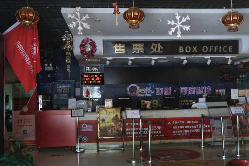 China to let most cinemas re-open from Monday as pandemic ebbs