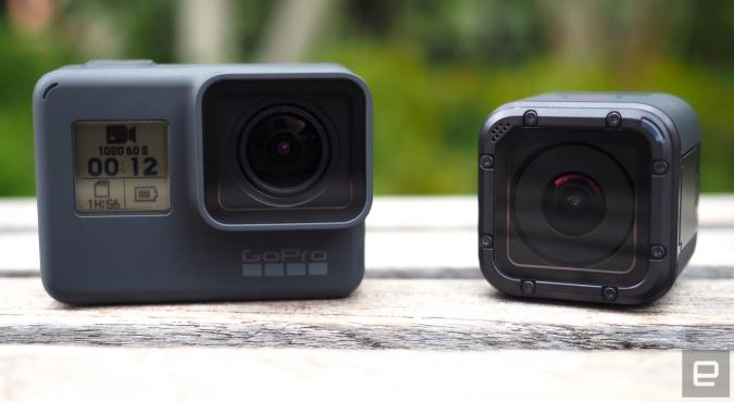 GoPro's Hero5 Black and Session bring overdue improvements