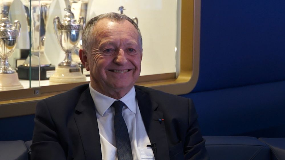 """OL, Aulas : """"Cette année, le PSG était plus fort que Barcelone"""""""
