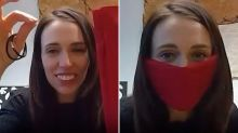 'Amazing leader': Prime Minister Jacinda Ardern praised for mask video