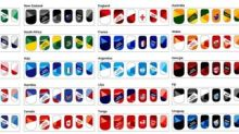 Canon Releases Nail Sticker Designs For All Twenty Teams Competing In Rugby World Cup 2019™