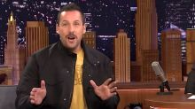 Adam Sandler Mercilessly Mocks His Penis On 'The Tonight Show'