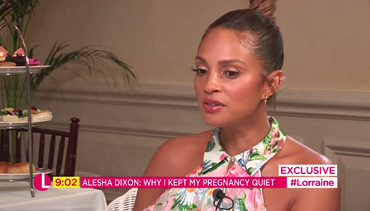 Alesha Dixon feared pregnancy could lose her job