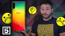 Lo que más nos decepcionó de los Galaxy Note 10