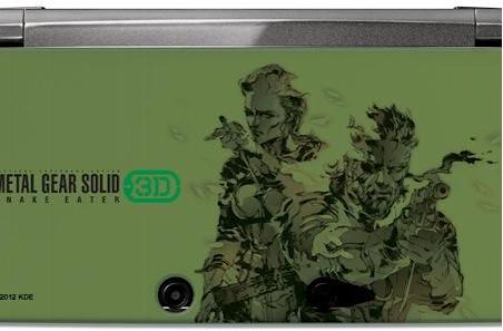 Metal Gear Solid 3D accessories increase your 3DS camo index