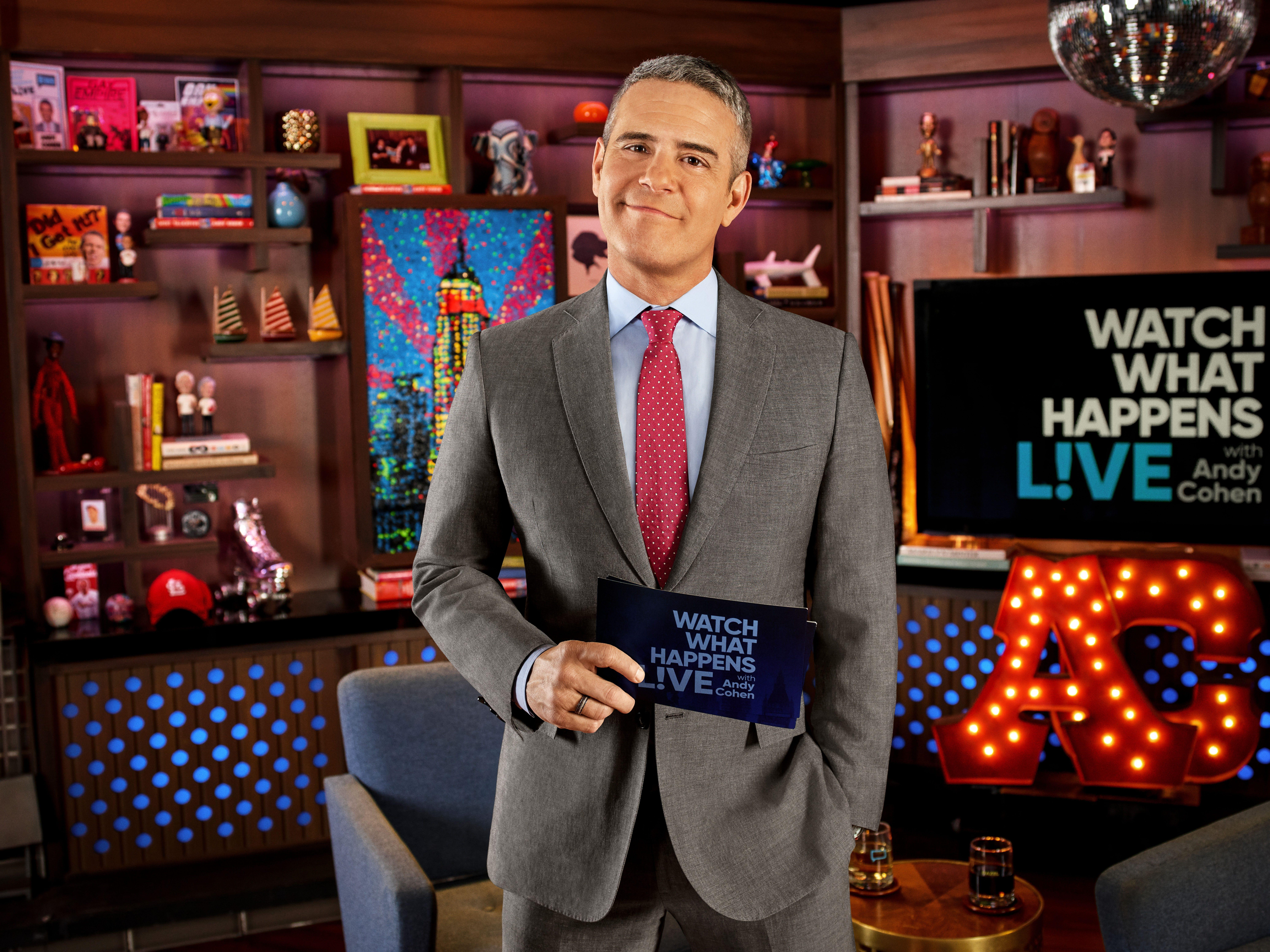 Andy Cohen talks friendship with Anderson Cooper, being 'the ...