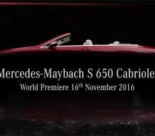 Behold the Mercedes-Maybach S650 Cabriolet in All...Well, Some of Its Glory