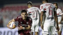 River Plate impõe choque de realidade ao São Paulo no Morumbi