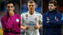 Gossip: Kroos 'says yes' to Man United, Arteta 'very close' to Arsenal job, Pochettino to Chelsea latest