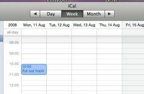 How to: Share iCal calendars without MobileMe
