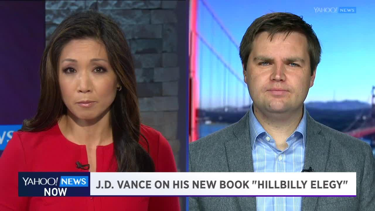 Yahoo news - Yahoo News Now Author J D Vance On His Book Trump And The Alt Right Movement Video