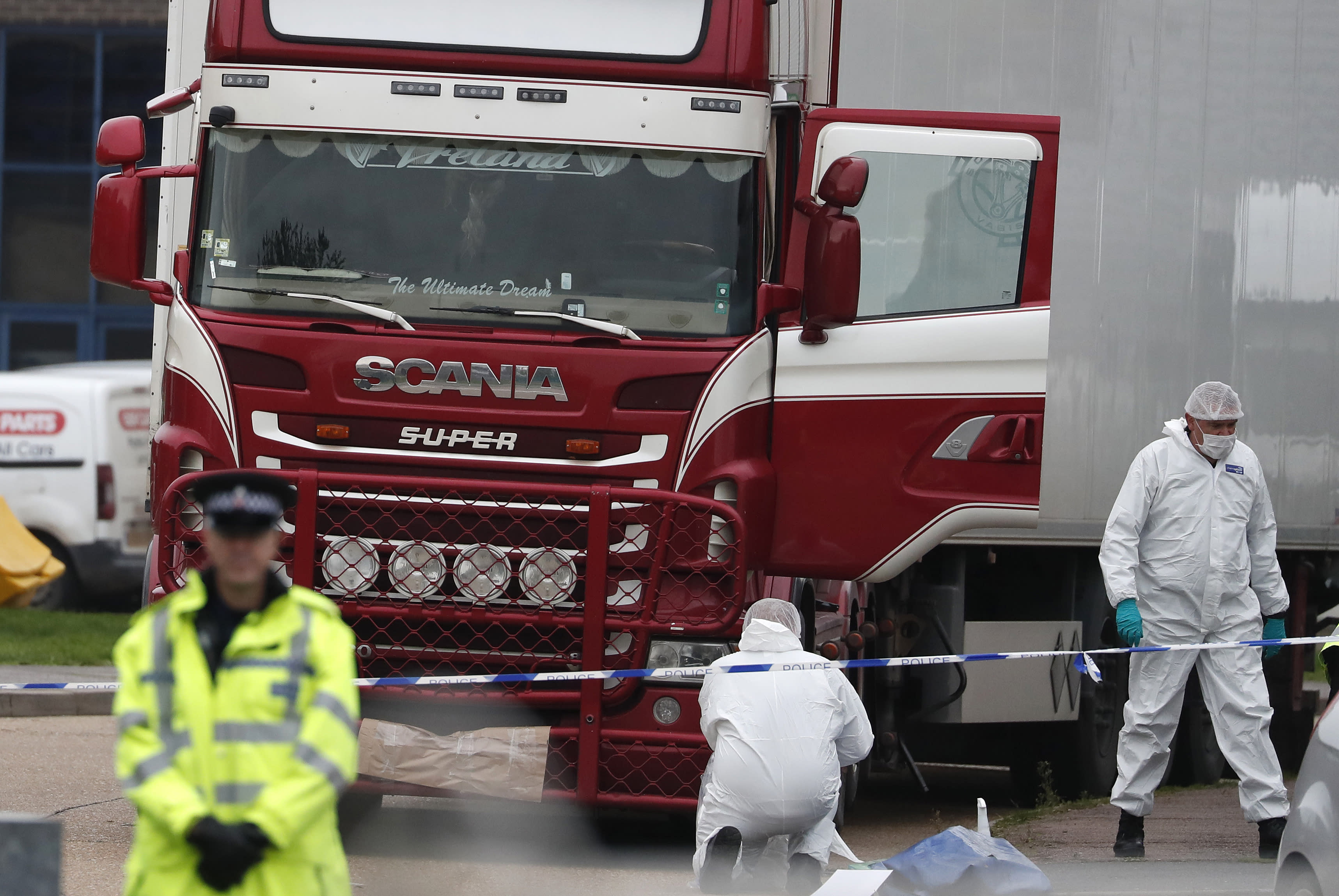 United Kingdom  lorry driver pleads guilty over migrant truck deaths
