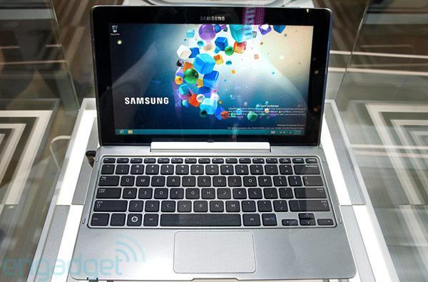 Samsung teases Series 5 Hybrid PC, a Windows 8 tablet with magnetic keyboard dock and pen support
