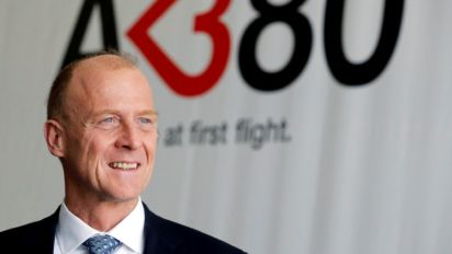 Airbus CEO says eyes merger of its, BAE's jet fighter units: Sunday Times