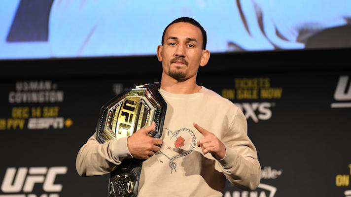 Max Holloway discusses bout with depression, fatherhood and stacked UFC 245 card