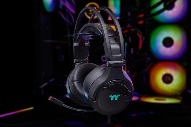 Thermaltake's latest gaming headset works with Alexa and Razer Chroma