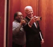 Biden selfie with elevator operator goes viral after 2020 candidate fails to secure New York Times endorsement