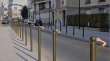 La artista que convierte las calles de París en escenarios de fantasía