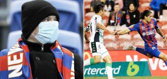 Major virus twist after 2500 attend A-League game