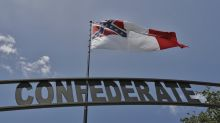 Huge Confederate flag near Interstate is one man's mission