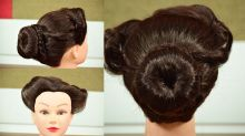 Hairstyle Tutorial : Puff style juda