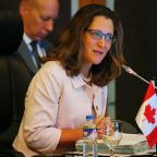 Canada imposes sanctions on Venezuela leadership
