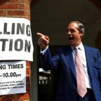 Farage's Brexit Party in the lead in EU election, first partial results showed