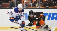 Ryan Nugent-Hopkins finds balance on second line for Oilers