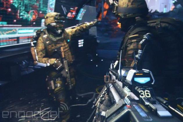 'Call of Duty: Advanced Warfare' trailer teases future of combat: jetpacks and robots