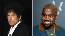 Kanye West takes break from tweeting about trees to call for Bob Dylan collaboration